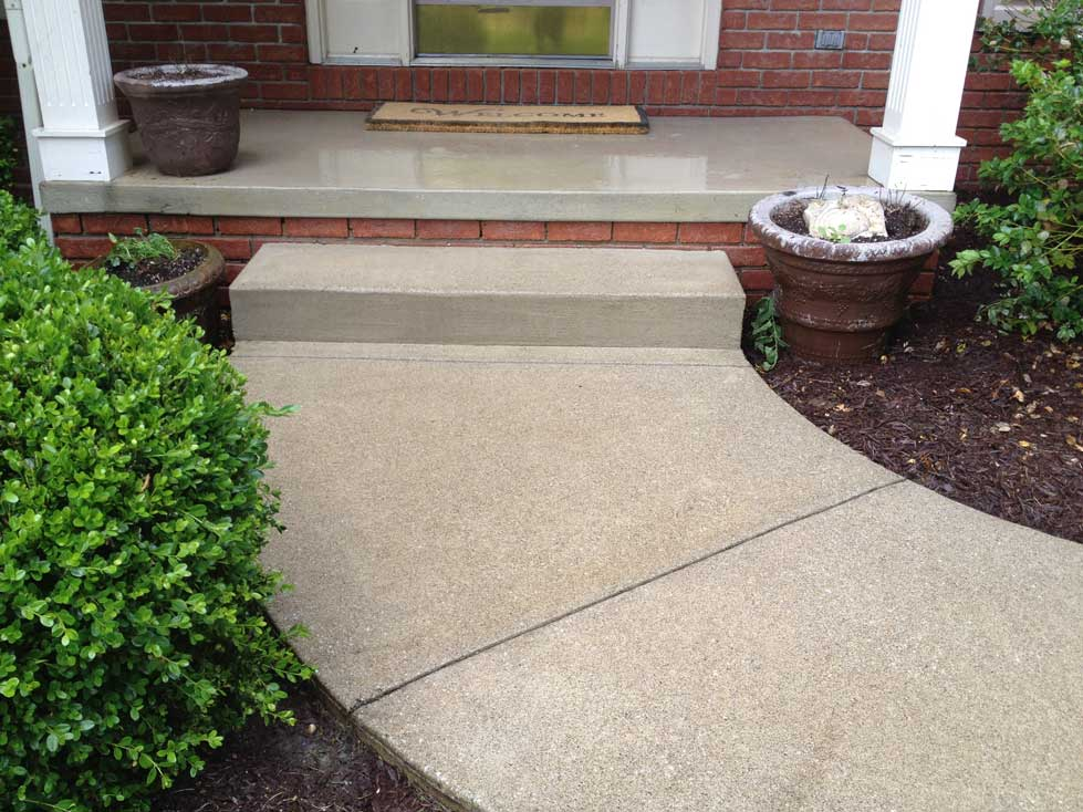 After Concrete Cleaning