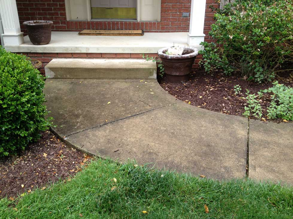 Concrete cleaning all cleanall clean for How to clean up concrete