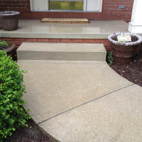 Concrete Walkway 3 After