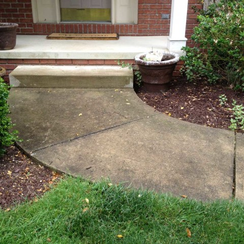 Concrete Walkway 3 Before