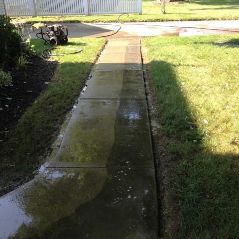 Concrete Walkway Half
