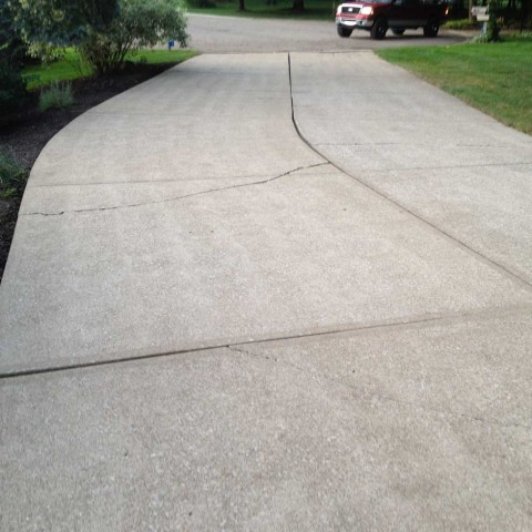 Driveway Cleaning 2 After