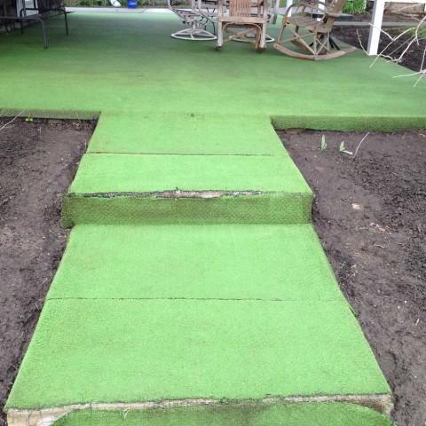 Exterior Carpet After