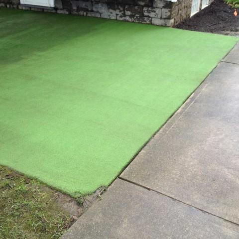 Exterior Carpet 2 After