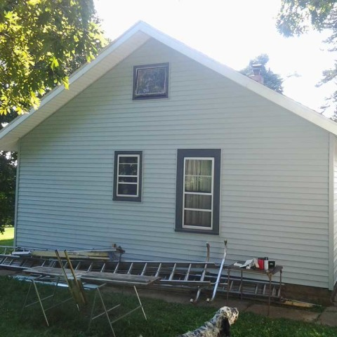 House Siding After
