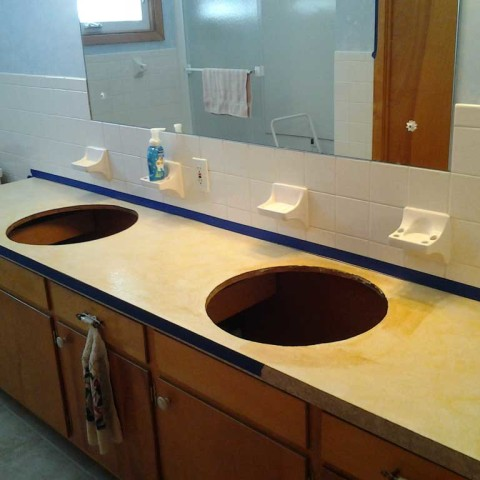 Sink and Counter Replace