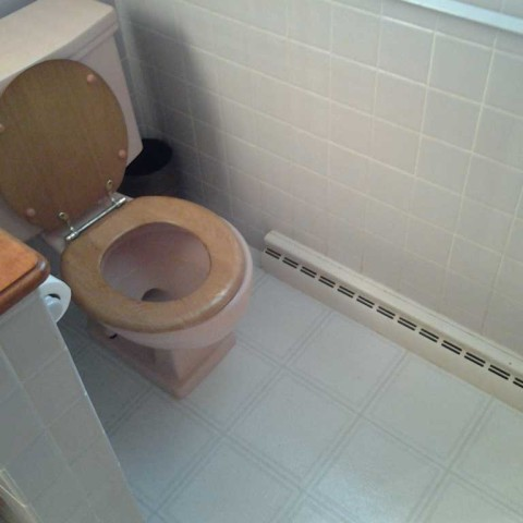 Toilet Replace Before